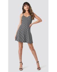 Trendyol Multicolor Stripe Mini Dress