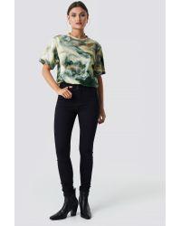 Trendyol Multicolor High Waist Skinny Jeans