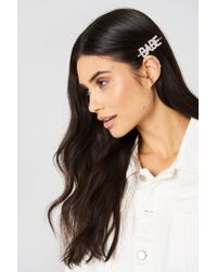 NA-KD Metallic Babe Hairpin