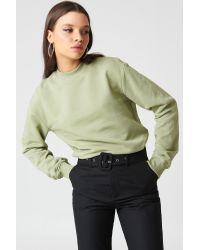 NA-KD Green Basic Basic Sweater
