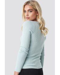 Mango Balletti Sweater in het Blue