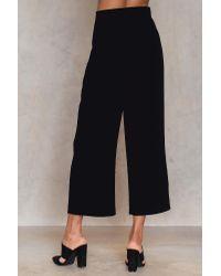 NA-KD Wide Suiting Pants in het Multicolor