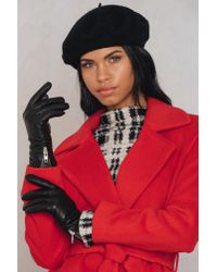 Filippa K - Black Zip Glove - Lyst