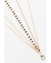 NA-KD | Metallic Multiple Chain Necklace | Lyst