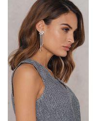 NA-KD   Metallic Star Tassel Earring   Lyst
