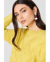 Mango - Metallic Mixed Pieces Earrings - Lyst