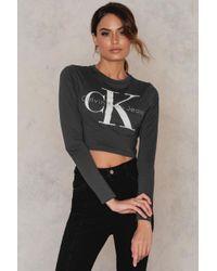 Calvin Klein | Multicolor Tyka True Icon Cropped Top | Lyst