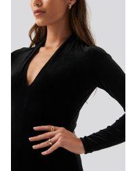 Mango Black Vickivel Dress