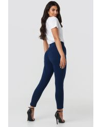 Jogger Waist Trousers NA-KD en coloris Blue
