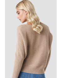 Mango Widie Sweater in het Brown