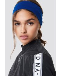 NA-KD Basic Hairband Dark Blue