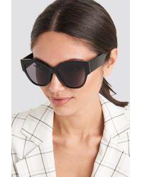 Mango Evas Sunglasses Black