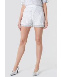 NA-KD Multicolor Party Sequins Shorts