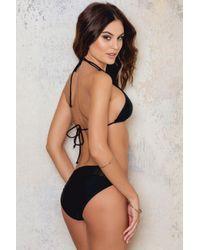 NA-KD - Black Crochet Bikini Bottom - Lyst