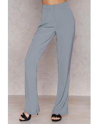 NA-KD Multicolor Hannalicious x Bootcut Suiting Pants