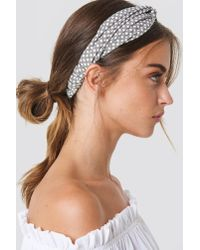 NA-KD - Gray Dotted Hairband - Lyst