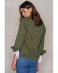 Glamorous Green Camo Jacket Khaki