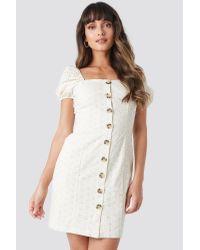 Trendyol White Milla Mini Dress