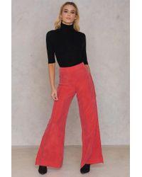 Stine Goya Red Malin Pants