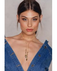 Vanessa Mooney | Metallic The Knoxville Bolo Necklace | Lyst