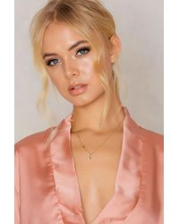 NA-KD - Metallic Moon And Star Necklace - Lyst