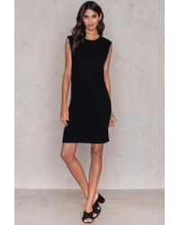 Rut&Circle - Black Geena Rib Dress - Lyst