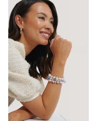 Bracelet De Perles En Couches Colorées NA-KD en coloris Multicolor