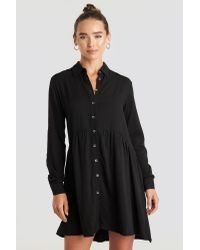 Trendyol Yol Shirt Dress in het Black