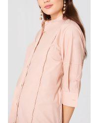 Filippa K Pink Cotton Shirt Dress