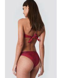 Bikini Panty NA-KD en coloris Red