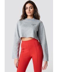 NA-KD Instagram That Shit Sweater in het Gray