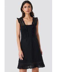 Mango Suity Dress in het Black