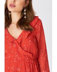 Minimum Red Barbel Dress