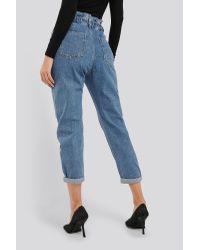 Slouchy Jeans Mango en coloris Blue