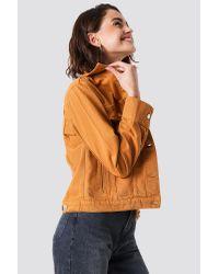 NA-KD Multicolor Regular Denim Jacket