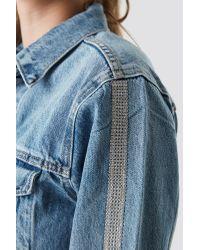Levi's Tux Stripe Trucker Jacket Blue