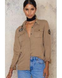 SanneAlexandra Natural Army Jacket