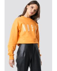 Rut&Circle Orange Ellen Sweatshirt