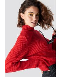 NA-KD Emilie Briting x Structured Polo Knit