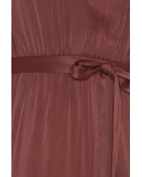 NA-KD Red Asymmetric Maxi Dress