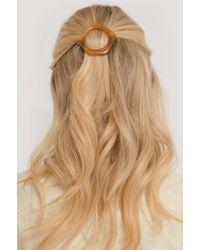 NA-KD Chunky Resin Hairclip in het Brown