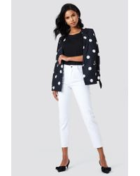 Trendyol High Waist Mom Jeans White
