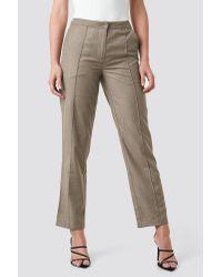 NA-KD Multicolor Classic Pintuck Detail Suit Pants