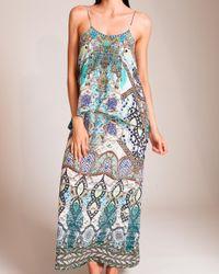 Camilla Blue Meet Me In Casablanca Layered Dress