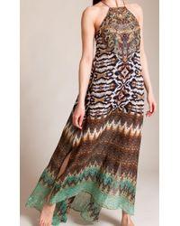 Camilla Brown Eyasi Stillness Sheer Overlay Dress