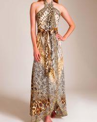 Camilla Multicolor Leopards Leap Wrap Dress