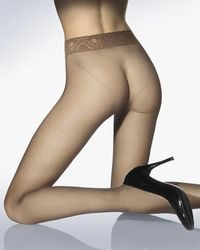Wolford | Multicolor Fatal 15 Seamless Tights | Lyst