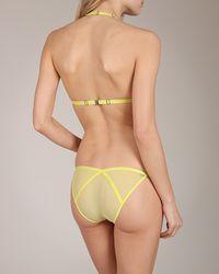 Lascivious - Yellow Heidi Brief - Lyst