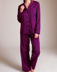 Derek Rose | Purple Classic Pajama | Lyst