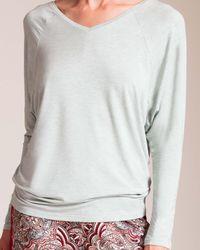 Calida Multicolor Favourites Trend V-neck Shirt